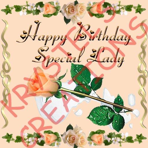 Second Life Marketplace Hbf79 Happy Birthday Special Lady Rezz Me