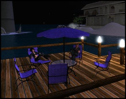 second life marketplace purple patio