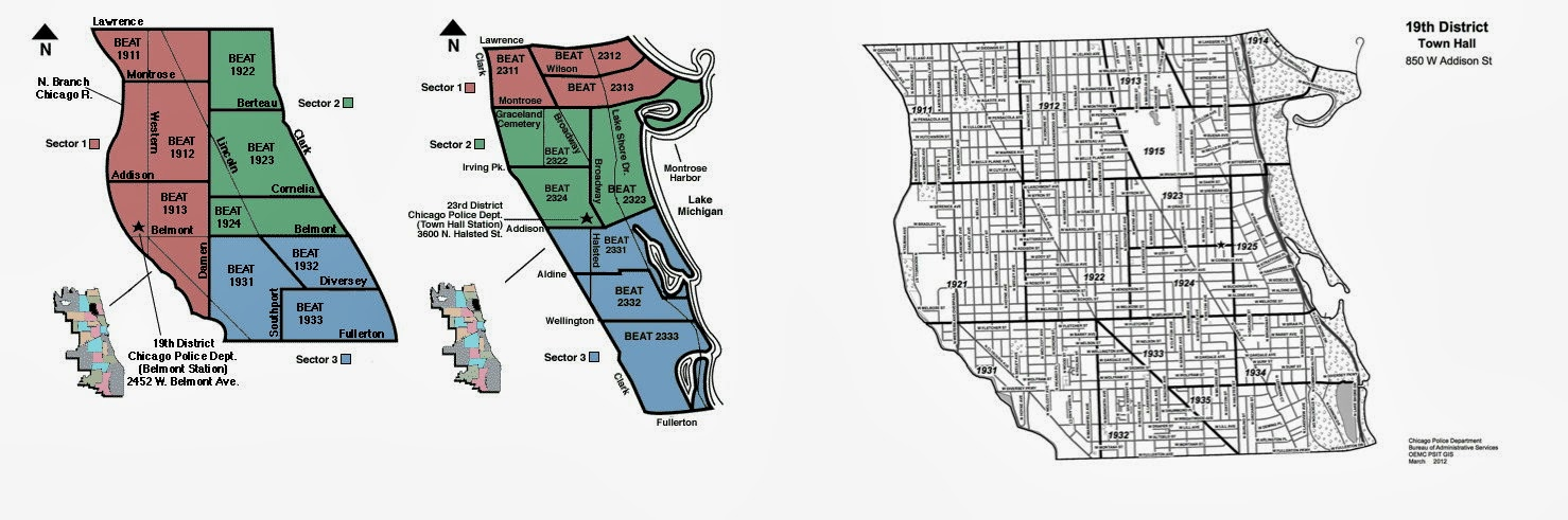 19 District Beat Maps South Lakeview Neighbors