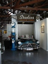 Entrance to Studios on the Park, Paso Robles, California