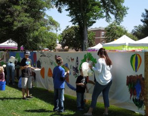 Public Mural Project, Paso Robles Festival of the Arts 2012