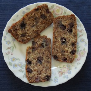 Oatmeal Blueberry Banana Bread -- Moist and Delicious