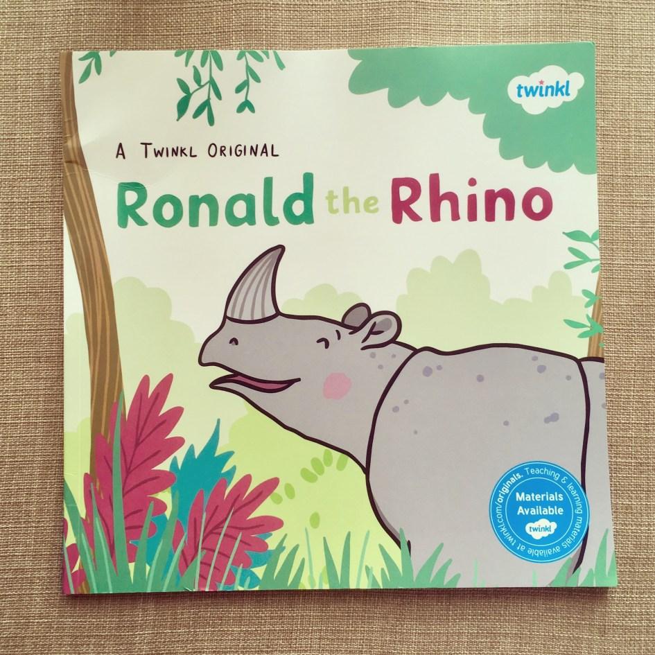 Ronald the Rhino picture book.