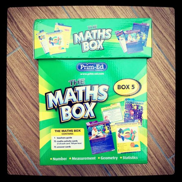 Review of the Prim-Ed Maths Box!