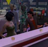 Looks like Ma didn't die in prison because here she is on Dani and Stephan's first date. Dun, Dun, Dun!