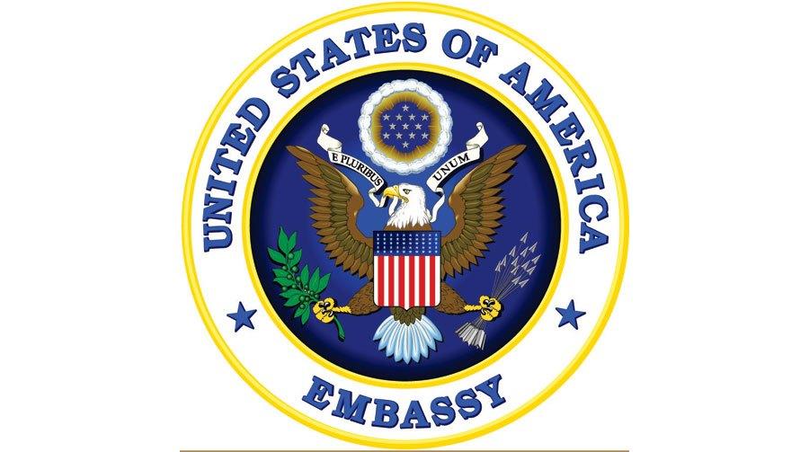 Inzerát USA ambasády v Česku