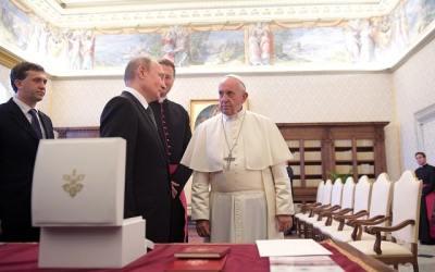 Putin v Taliansku: Boh sa Guaidovi vo Venezuele neozval, treba sa vrátiť k demokracii.