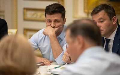 """Zelenskij oznámil """"velkou privatizaci"""" na Ukrajině."""