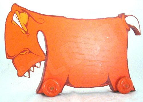 Charlie Alan Kraft Orange Toy