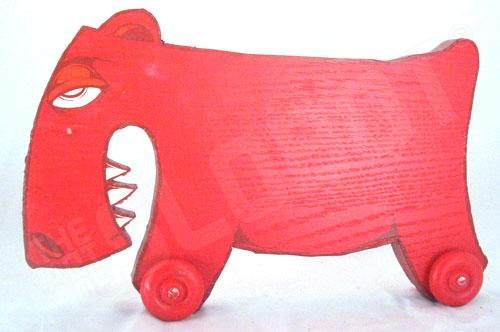 Charlie Alan Kraft Red Toy
