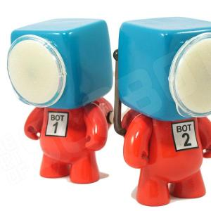 dr suess bot 1 bot 2 thing 1 thing 2 robot sculpture