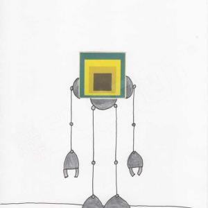Mike Slobot Joseph Albers Bauhaus Homage to a Square Robot