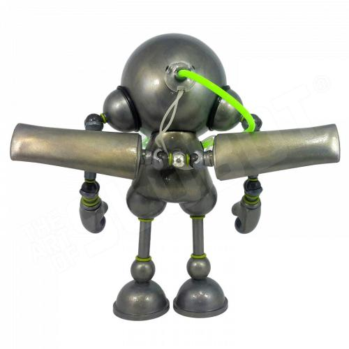 Mike Slobot Kidrobot Munny Robot Guardian Angel Back Doctors Without Borders Art Without Borders 2