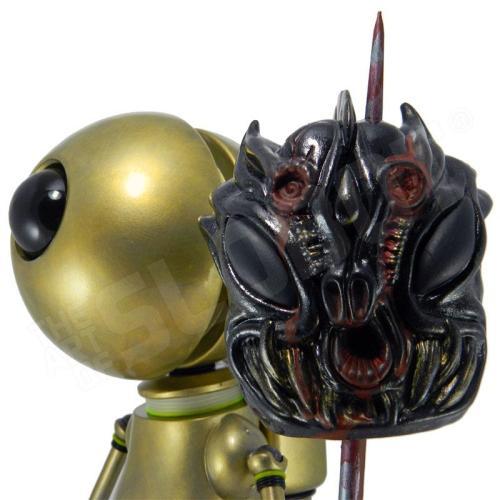 Mike Slobot Demon Hunter LA Robot Show demon head close up