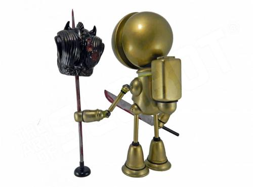 Mike Slobot Demon Hunter LA Robot Show back view