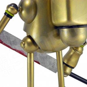 Mike Slobot Demon Hunter LA Robot Show back view detail