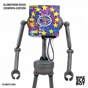 mike slobot robot u2 zooropa toy art gallery 1 close up
