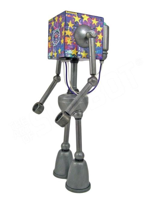 mike slobot robot u2 zooropa toy art gallery left side