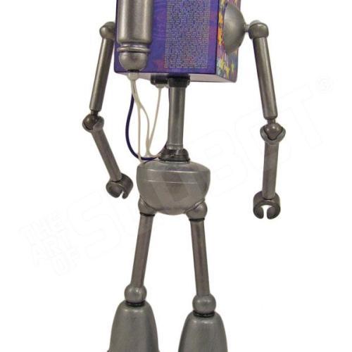 mike slobot robot u2 zooropa toy art gallery back