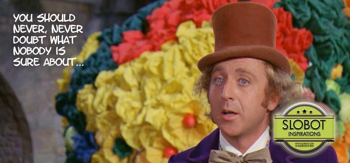 2014 Slobot Inspiration Gene Wilder Willy Wonka Slider