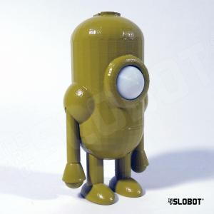 Mike Slobot Robot Carl 5 in a stunning Avocado greenn