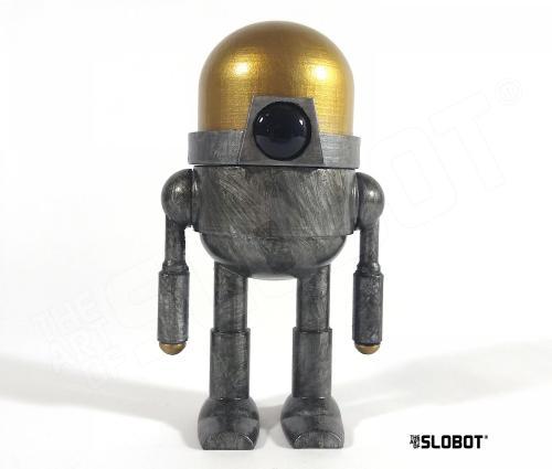 Mike Slobot One Of A Kind 3D Printed robot sculpture XPLOR1