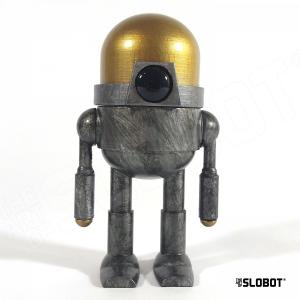 Mike Slobot One Of A Kind 3D Printed robot sculpture XPLOR1