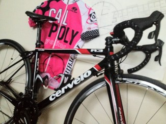 Cervelo R3 with Cal Poly Jersey