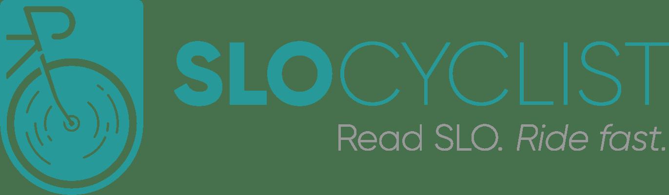 SLO Cyclist Bike Cycling Logo