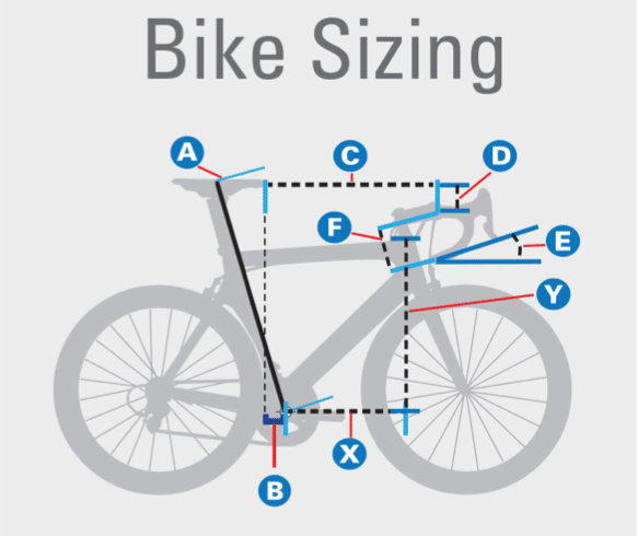 Road Bike Frame Sizes Find Amp Fit The Right Bicycle For You
