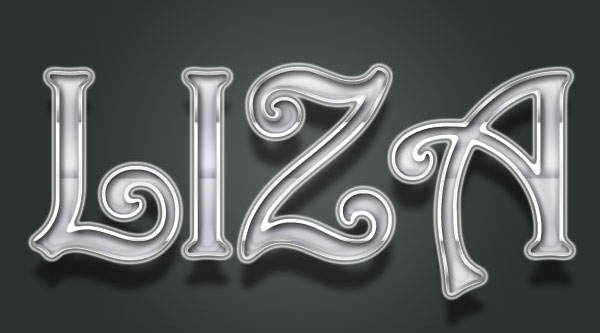 Design Cool Lord-Chrome Text Effect