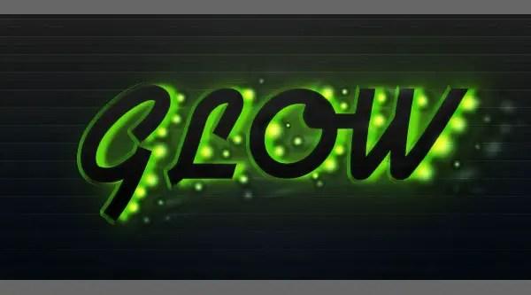 Create a Futuristic Glowing Text Effect