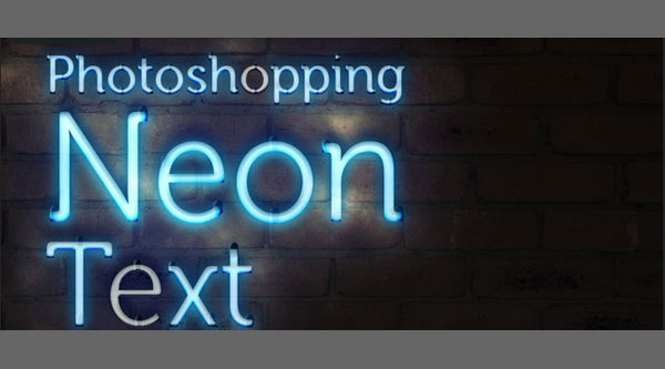 Super Easy Neon Style in Photoshop