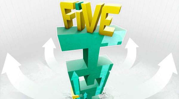 Create Dynamic and Textured 3D Text with Perspective in Photoshop and Illustrator