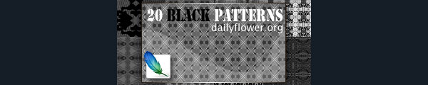 20 black patterns for ps