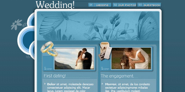 Our Wedding Template