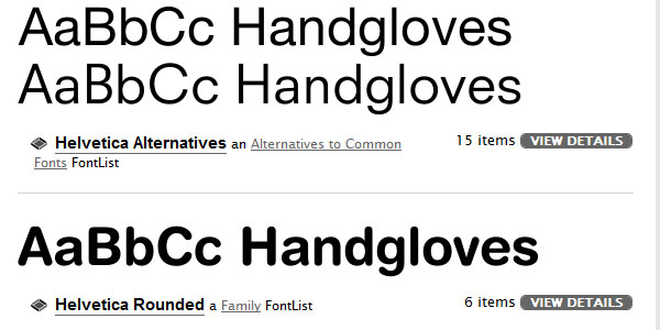 All About Helvetica Font | A Brand New Day