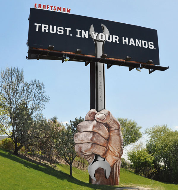 Craftsman Tools: Wrench billboard