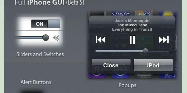 MobileMe Full iPhone GUI