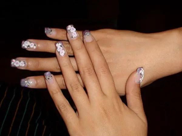 3d Nail Art Natural Nails Ideas