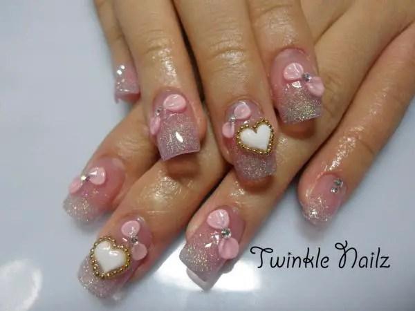 Cute 3d Nail Art