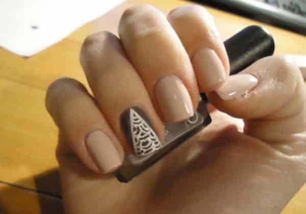 V Shaped Nail Art Designs