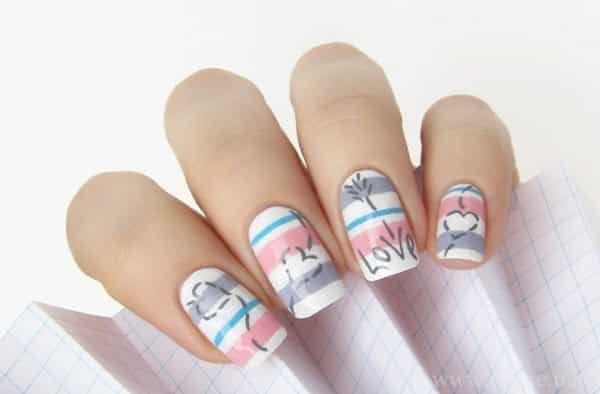 Another word for nail artist nail art ideas wonderful word nail art designs graphics for fingernail word graphicsbuzz prinsesfo Images