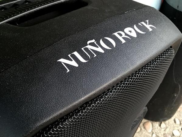Pegatinas Nuño Rock