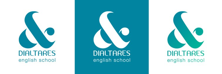 Logotipo Dialtares English School