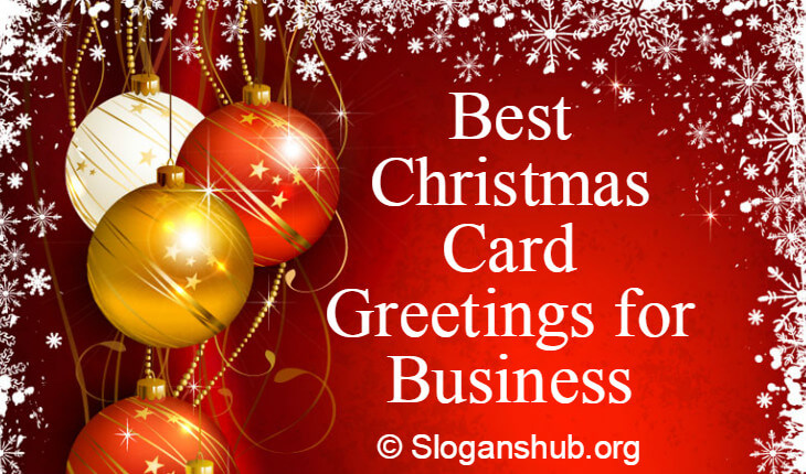 50 Best Christmas Card Greetings For Business