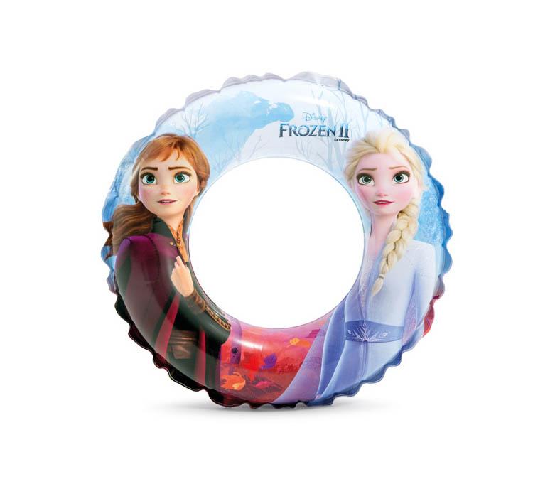Kolut za plivanje dječji Frozen, Intex. Kolut od vinila promjera 51cm za učenje plivanja sa šarenim printom iz crtića Frozen.