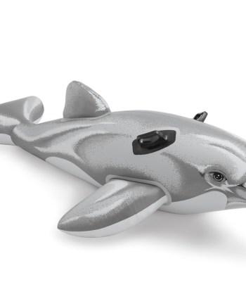 Delfin na napuhavanje za plivanje, Intex. Umjesto običnog madraca svako će se dijete oduševiti delfinom kojeg može jahati na moru, plaži ili bazenu.