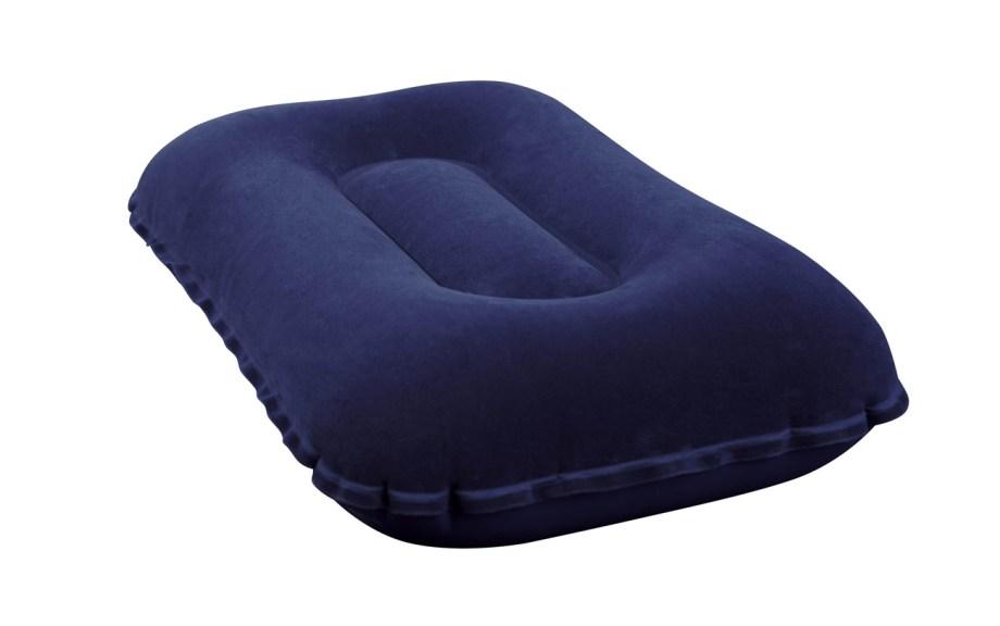 Jastuk za kampiranje na napuhavanje. Jastuk za napuhavanje sa jednom mekanom stranom za više udobnosti.