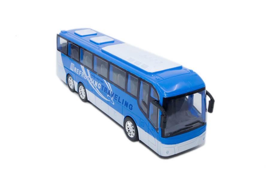 autobus vozila city bus plavi prednja